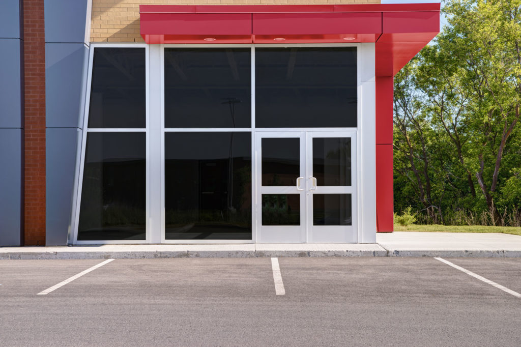 storefront by River Valley Tinting and Glass